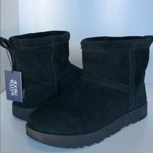 💝New Ugg Mini classic waterproof suede boots 8.5